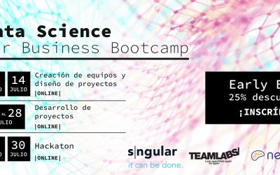 "Sngular y Teamlabs escogen a NeuroK como plataforma de aprendizaje para realizar su programa ""Data Science for Business Bootcamp"""